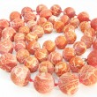 Stock Photo: Heap coral beads