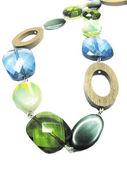 Bijoux de perles colorées — Photo