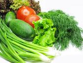 Insalata di verdure insieme — Foto Stock