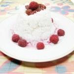 Rice porridge with raspberry — Stock Photo #11092313