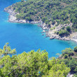 Blue lagoon bay in mediterranesea — Stock Photo #11596146
