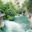 Saklikent gorge fethiye turkey - Stock Photo