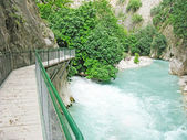 Saklikent gorge fethiye turkey — Stock Photo