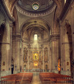 Mahon cathedral interior — Stock Photo