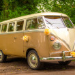 un camping-car de mariage vw — Photo
