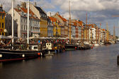 Copenhagen, il nyhavn — Foto Stock