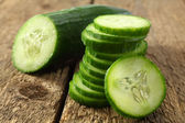 Healthy cocumber — Stock Photo
