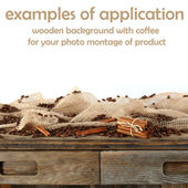 Coffee background — Foto Stock