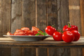 Gerookt vlees van ham — Stockfoto