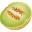 Melons on white — Stock Photo