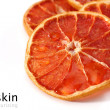 Stock Photo: Dry skin of fruit