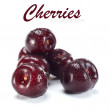 Fresh cherries — Stockfoto