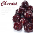 Stock Photo: Fresh cherries