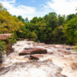 Khbail Chai waterfall #4, Sihanoukville, Cambodia — Stock Photo