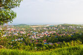 The view from the top of the Sihanoukville, Cambodia — Stock Photo