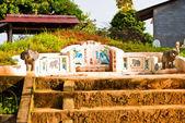 The grave, Wat Leu, Sihanoukville, Cambodia — 图库照片