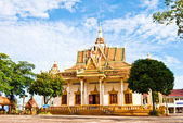 Wat Krom or Down Pagoda, Sihanoukville, Cambodia — Stock Photo