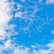 Stock Photo: Sky with cirrus clouds