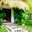 Foto de Stock  : Exotic Landscaping Design