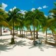 Caribbean Beach. Paradise Resort — Stock Photo