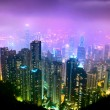Hong Kong Night View — 图库照片