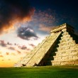 Stock Photo: Chichen Itza Mayan Pyramid