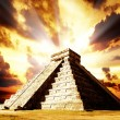 Chichen Itza Mayan Pyramid - Stock Photo