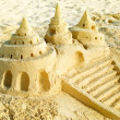 Sand Castle on the Beach — 图库照片 #11104128