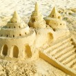 Stockfoto: Sand Castle on the Beach