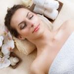 Spa Woman in Beauty Salon — Stock Photo #11104278