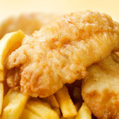 Fish & chips — Stockfoto