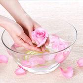 Hands Spa. Manicure — Foto Stock