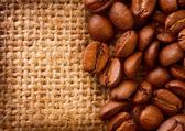 Coffee Border design — Stock Photo