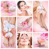Colagem de spa — Foto Stock