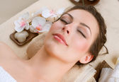 Spa Woman in Beauty Salon — Foto de Stock