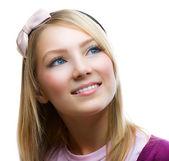Teenage student mädchen portrait — Stockfoto