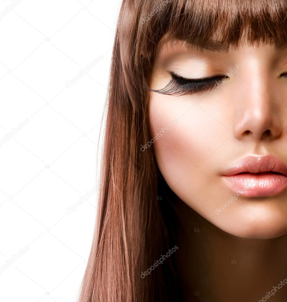 Face. Fashion Makeup. Perfect Skin — Stock Photo #11103606
