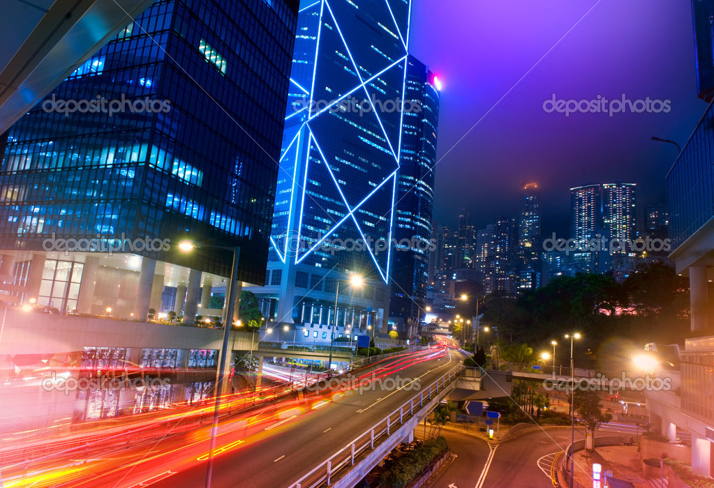 Hong Kong Night View — Stock Photo #11103934