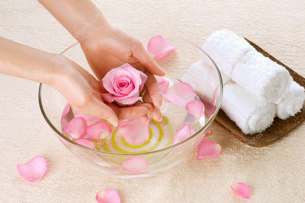 Hand Spa. Manicure concept — Stock Photo #11104015