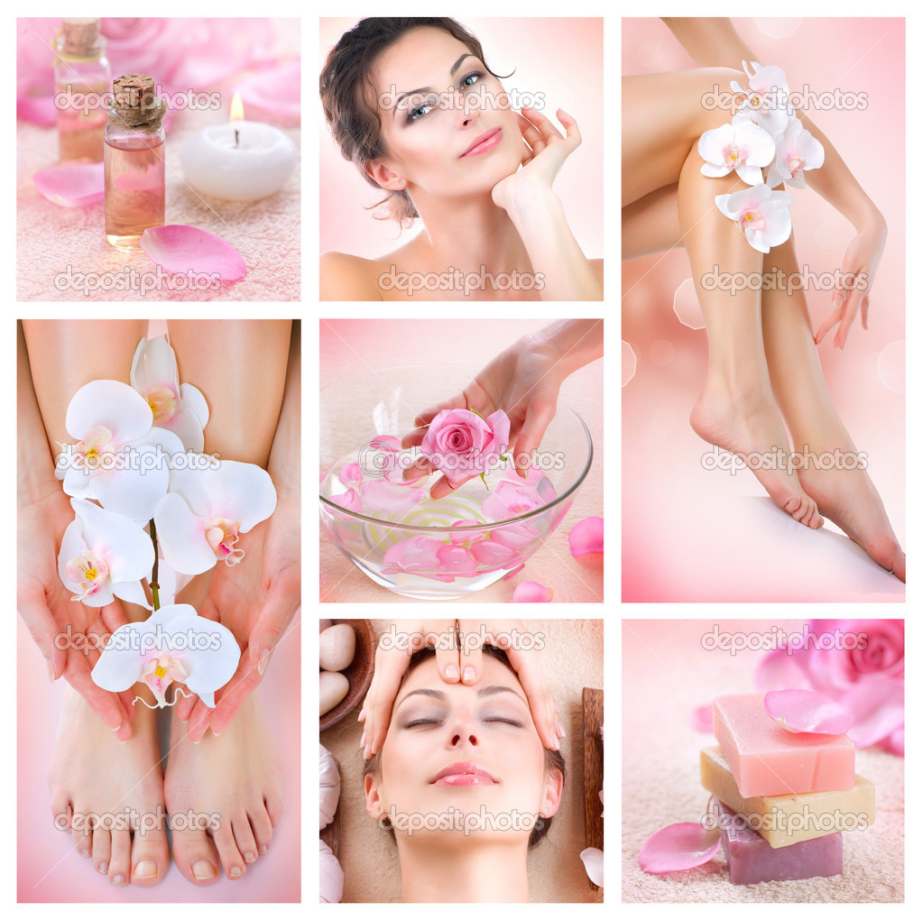 Spa Collage — Stock Photo #11104416