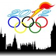 Background for Olympic games in London — Stock Vector #11612165