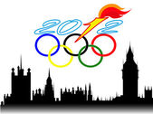 Background for Olympic games in London — Stock Vector