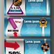 Web design cards — Stockvector #10781400