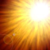 Sun background — Stock Photo