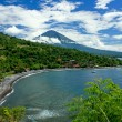 Agung volcano, Bali, Indonesia — Stock Photo
