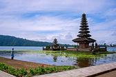 Ulun Dalu Temple in Bali Indonesia — Stock Photo