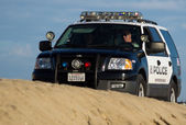 Huntington Beach Police Beach Patrol — Stock Photo