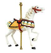 Minature Carousel Horse — Stock Photo