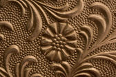 Embossed Floral Paper — Stock Photo