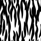 Zebra skin seamless pattern — Stock Vector